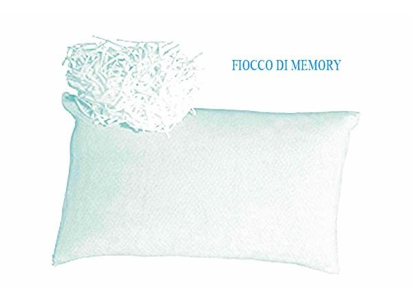 Guanciale fiocco di memory tessuto aloe vera