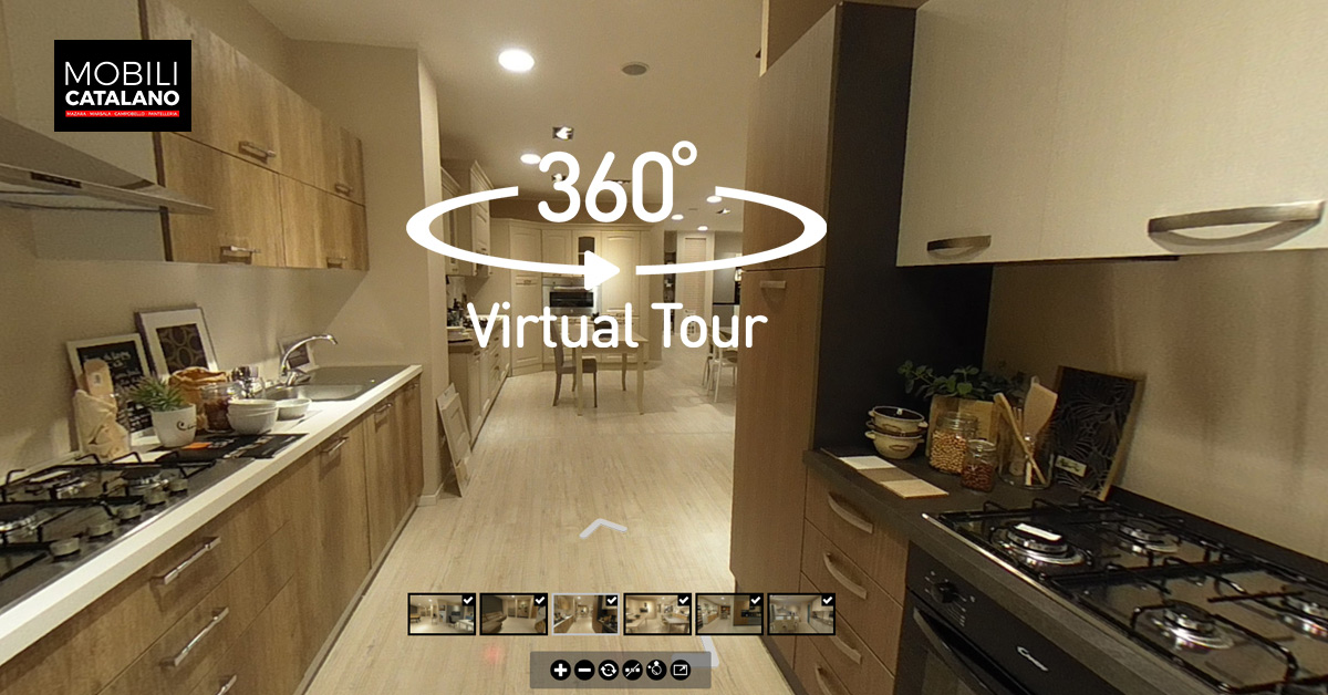 Tour virtuale Cucine